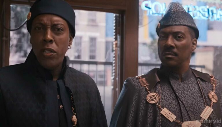 Coming 2 America trailer featuring Arsenio Hall and Eddie Murphy